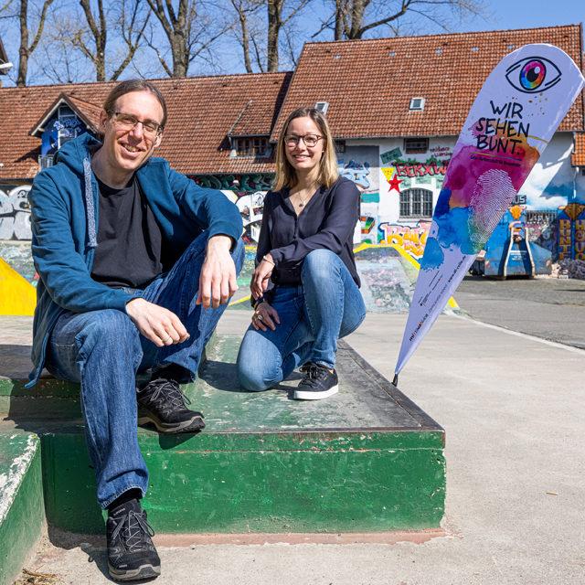 Gerd Janke und Sinja Naujok